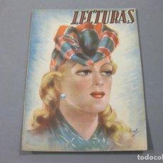 Coleccionismo de Revistas: REVISTA LECTURAS DE MAYO DE 1942 Nº 211. Lote 252226805