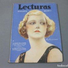 Coleccionismo de Revistas: REVISTA LECTURAS DE AGOSTO DE 1935 Nº 171. Lote 252227655