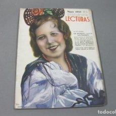 Coleccionismo de Revistas: REVISTA LECTURAS DE MAYO DE 1935 Nº 168. Lote 252227720