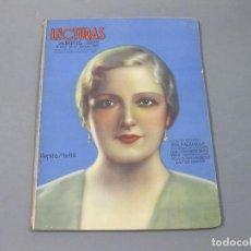 Coleccionismo de Revistas: REVISTA LECTURAS DE ABRIL DE 1935 Nº 167. Lote 252227780