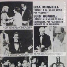 Collectionnisme de Magazines: RECORTE CLIPPING DE LIZA MINNELLI REVISTA LECTURAS Nº 1094 PAG. 35 L37. Lote 253218965