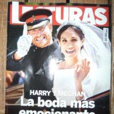 Coleccionismo de Revistas: BODA HARRY MEGHAN. LECTURAS SUPLEMENTO. Lote 253755530