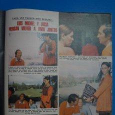 Collezionismo di Riviste: RECORTE CLIPPING DE LUIS MIGUEL DOMINGUIN Y LUCIA BOSE REVISTA LECTURAS Nº 1103 PAG. 60-62 L38. Lote 254213465