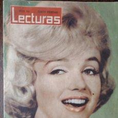 Coleccionismo de Revistas: LECTURAS Nº 511 DE 1961- MARILYN MONROE- CARMEN SEVILLA- CATERINA VALENTE- GRACE MONACO- MARGARITA... Lote 254219715