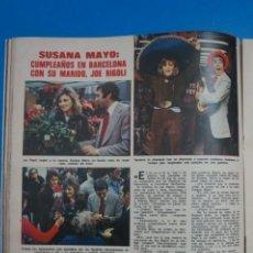 Coleccionismo de Revistas: RECORTE CLIPPING DE SUSANA MAYO REVISTA LECTURAS Nº 1196 PAG.46 L38. Lote 254223910