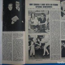 Coleccionismo de Revistas: RECORTE CLIPPING DE ROMY SCHNEIDER REVISTA LECTURAS Nº 1196 PAG.39 L38. Lote 254224225