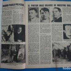 Coleccionismo de Revistas: RECORTE CLIPPING DE PABLO PICASSO REVISTA LECTURAS Nº 1196 PAG.32-33 L38. Lote 254225035