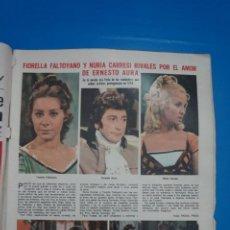Coleccionismo de Revistas: RECORTE CLIPPING DE LA FERIA DE LAS VANIDADES ENERSTO AURA REVISTA LECTURAS Nº 1196 PAG. 3 L38. Lote 254225975