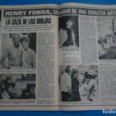 Coleccionismo de Revistas: RECORTE CLIPPING DE HENRY FONDA REVISTA LECTURAS Nº 1121 PAG. 94-95 L38. Lote 254228210
