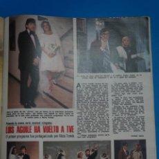 Coleccionismo de Revistas: RECORTE CLIPPING DE LUIS AGUILE REVISTA LECTURAS Nº 1121 PAG. 75 L38. Lote 254229340