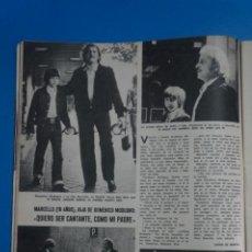 Coleccionismo de Revistas: RECORTE CLIPPING DE DOMENICO MODUGNO REVISTA LECTURAS Nº 1121 PAG. 36 L38. Lote 254231775