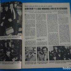 Coleccionismo de Revistas: RECORTE CLIPPING DE ALAIN DELON REVISTA LECTURAS Nº 1121 PAG. 33 L38. Lote 254231930