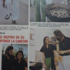 Coleccionismo de Revistas: RECORTE CLIPPING DE EMILIO JOSE REVISTA LECTURAS Nº 1121 PAG. 7 L38. Lote 254232525