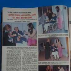 Coleccionismo de Revistas: RECORTE CLIPPING DE VALENTIN TONOS DON CICUTA REVISTA LECTURAS Nº 1121 PAG. 3 L38. Lote 254232930