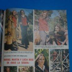 Collezionismo di Riviste: RECORTE CLIPPING DE MARIBEL MARTIN Y LUCIA BOSE REVISTA LECTURAS Nº 1122 PAG. 100 L38. Lote 254250540