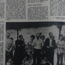 Coleccionismo de Revistas: RECORTE CLIPPING DE CRONICAS DE UN PUEBLO REVISTA LECTURAS Nº 1122 PAG. 30 L38. Lote 254252010