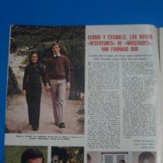Coleccionismo de Revistas: RECORTE CLIPPING DE SERGIO Y ESTIBALIZ REVISTA LECTURAS Nº 1122 PAG. 2 L38. Lote 254252700