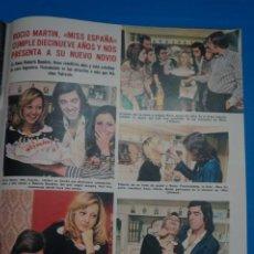 Coleccionismo de Revistas: RECORTE CLIPPING DE ROCIO MARTIN REVISTA LECTURAS Nº 1105 PAG. 85-86 L38. Lote 254253145