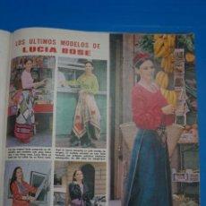 Coleccionismo de Revistas: RECORTE CLIPPING DE LUCIA BOSE REVISTA LECTURAS Nº 1105 PAG. 80 L38. Lote 254253885