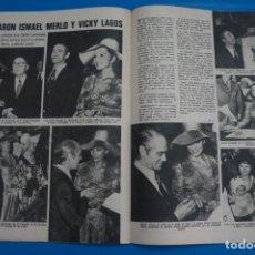 Coleccionismo de Revistas: RECORTE CLIPPING DE ISMAEL MERLO Y VICKY LAGOS REVISTA LECTURAS Nº 1105 PAG. 64 Y 65 L38. Lote 254254105