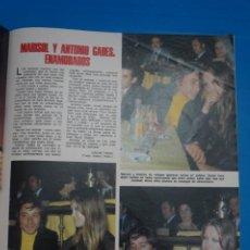 Coleccionismo de Revistas: RECORTE CLIPPING DE MARISOL Y ANTONIO GADES REVISTA LECTURAS Nº 1105 PAG. 50 Y 51 L38. Lote 254254785