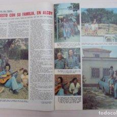 Collezionismo di Riviste: RECORTE CLIPPING DE CAMILO SESTO REVISTA LECTURAS Nº 1113 PAG. 30 Y 31 L40. Lote 254499785