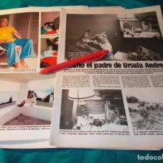 Collezionismo di Riviste: RECORTE : MUERE EL PADRE DE URSULA ANDRESS .LECTURAS, DCMBRE 1983(#). Lote 254502040