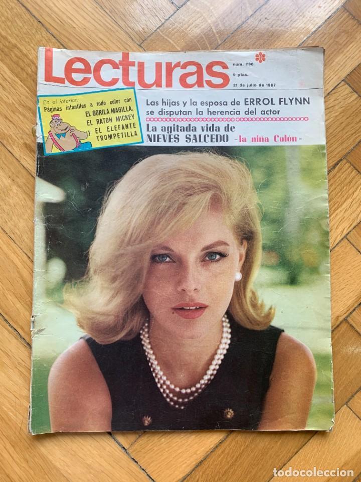 LECTURAS Nº 796 - 21 DE JULIO DE 1967 - D8 (Coleccionismo - Revistas y Periódicos Modernos (a partir de 1.940) - Revista Lecturas)