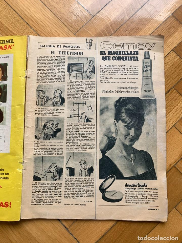 Coleccionismo de Revistas: LECTURAS Nº 796 - 21 DE JULIO DE 1967 - D8 - Foto 2 - 255973135