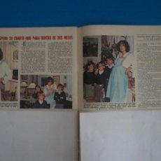 Coleccionismo de Revistas: RECORTE CLIPPING DE GLORIA REVISTA LECTURAS Nº 1561 PAG. 108-109 L42. Lote 256016155