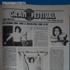 Coleccionismo de Revistas: RECORTE CLIPPING DE TOTO COTUGNO REVISTA LECTURAS Nº 1562 PAG. 83 L42. Lote 256019900
