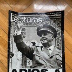 Coleccionismo de Revistas: LECTURAS 1232: MUERTE DE FRANCO. Lote 256027045