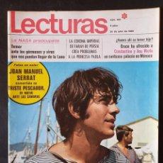 Coleccionismo de Revistas: LOTE 17 REVISTAS LECTURAS VARIOS AÑOS 1961 A 1992 (VER FOTOS). Lote 256040450