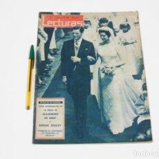 Coleccionismo de Revistas: REVISTA LECTURAS Nº 576 DE 3 DE MAYO DE 1963. Lote 257514145
