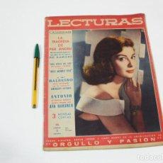 Coleccionismo de Revistas: REVISTA LECTURAS Nº 438 DE 1 DE NOVIEMBRE DE 1958. Lote 257514505