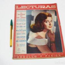 Coleccionismo de Revistas: REVISTA LECTURAS Nº 438 DE 1 DE NOVIEMBRE DE 1958. Lote 257514685
