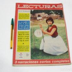 Coleccionismo de Revistas: REVISTA LECTURAS Nº 437 DE 15 DE OCTUBRE DE 1958. Lote 257514830