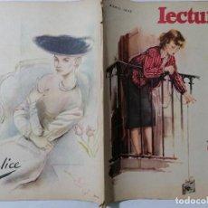 Coleccionismo de Revistas: REVISTA LECTURAS, Nº 294, ABRIL DE 1949. Lote 261799015