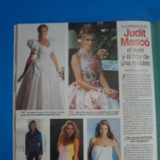 Coleccionismo de Revistas: RECORTE CLIPPING DE JUDIT MASCO LECTURAS Nº 2221 PAG. 90 L45. Lote 262512650