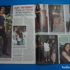 Coleccionismo de Revistas: RECORTE CLIPPING DE JUAN DEL DIABLO LECTURAS Nº 2221 PAG. 126 Y 127 L45. Lote 262513120
