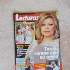 Coleccionismo de Revistas: REVISTA LECTURAS Nº 3.296- 2015- TERELU ROMPE CON SU NOVIO-RAQUEL BOLLO-CARMEN LOMANA. Lote 262623870