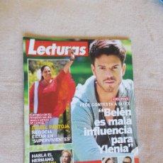 Coleccionismo de Revistas: LECTURAS Nº 3.298-2015-FEDE-RISTO MEJIDE-CARMEN LOMANA-ISABEL PANTOJA. Lote 262625105