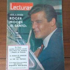 Coleccionismo de Revistas: REVISTA LECTURAS Nº 687, 18 JUNIO 1965, 7 PTS, ROGER MOORE. Lote 262631110