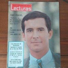Coleccionismo de Revistas: REVISTA LECTURAS Nº 657, 20 NOVIEMBRE 1964, 6 PTS, TONY PERKINS. Lote 262631335
