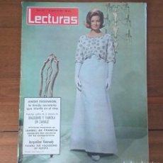 Coleccionismo de Revistas: REVISTA LECTURAS Nº 642, 7 AGOSTO 1964, 6 PTS, ANGIE DICKINSON. Lote 262631495