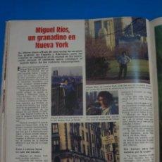 Coleccionismo de Revistas: RECORTE CLIPPING DE MIGUEL RIOS REVISTA LECTURAS Nº 1623 PAG. 100 L47. Lote 263734240