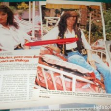 Colecionismo de Revistas: RECORTE : AMPARO MUÑOZ, MISS UNIVERSO, DIAS DE VACACIONES EN MALAGA. LECTURAS, ENERO 1990(#). Lote 265436584