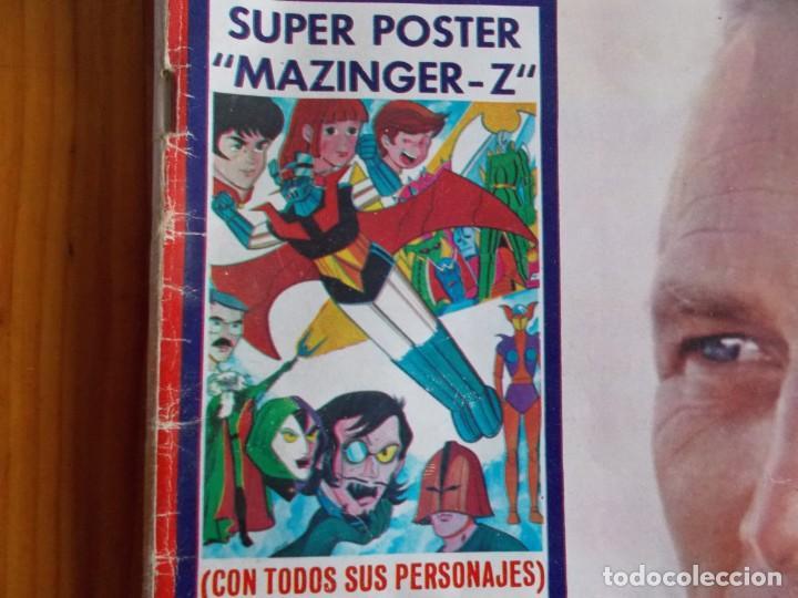 "REVISTA LECTURAS AÑO 1978, CON SUPER POSTER DE ""MAZINGER-Z"" (Coleccionismo - Revistas y Periódicos Modernos (a partir de 1.940) - Revista Lecturas)"