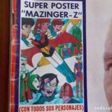 """Coleccionismo de Revistas: REVISTA LECTURAS AÑO 1978, CON SUPER POSTER DE """"MAZINGER-Z"""". Lote 266238348"""