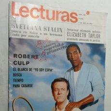 Coleccionismo de Revistas: REVISTA LECTURAS 781 AÑO 1967 ROBERT CULP BILL CROSBY ELIZABETH TAYLOR SVETLANA STALIN. Lote 268133824